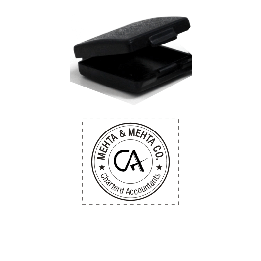 Chartered Accountant Logo Stamp